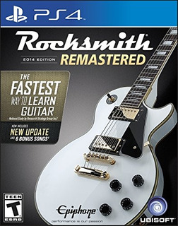 Videojuego Rocksmith 2014 Edition Remastered + Cable Ps4