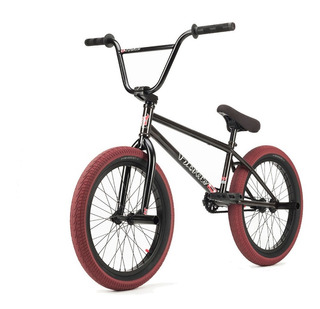Bicicleta Bmx Profesional Fit Bike Co Vhs ¡full Cromo! Negra