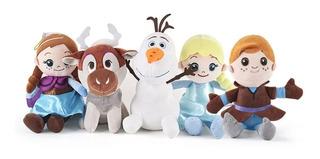 Peluche Combo Frozen 24cm Excelente!! Precio X Los 5