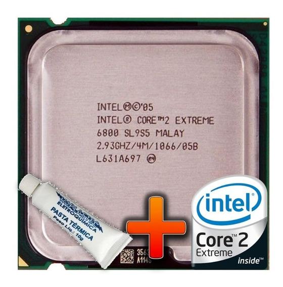 Processador Intel Lga 775 Core 2 Extreme X6800 2.93 Ghz 4mb