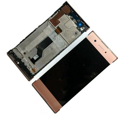 Imagem 1 de 8 de Display Lcd Com Aro P/ Sony Xperia Xa1 G3116/ Pronta Entrega