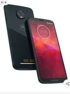 Motorola Moto Z3 Play 64 Gb Preto-indigo 4 Gb Ram