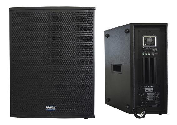 Caixa Ativa Monitor Retorno Palco Mark Audio Ca1200 Af15 250