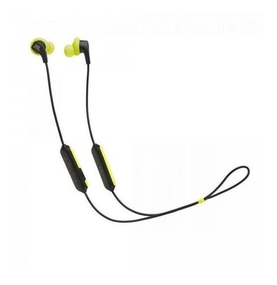 Fone De Ouvido Bluetooth Endurance Run Preto/amarelo Jbl Nfe
