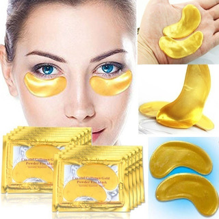Parches De Colageno Crystal Collagen Gold Para Ojeras Arruga