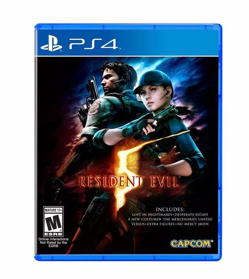 Resident Evil 5 - Ps4 - Pronta Entrega!