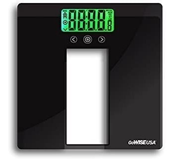 Gowise Usa Body Mass Index Scale With Three Color Lcd Indica