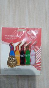 Pin Rio 2016 Coca Cola - Garrafas - Oficial - Exclusivo