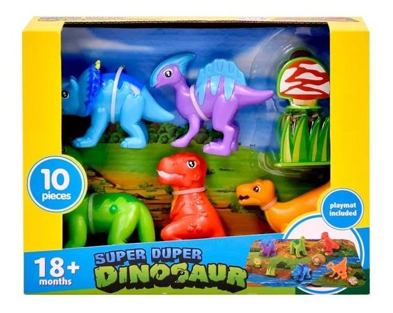 Set De Dinosaurios X 6 Super Duper Amoa