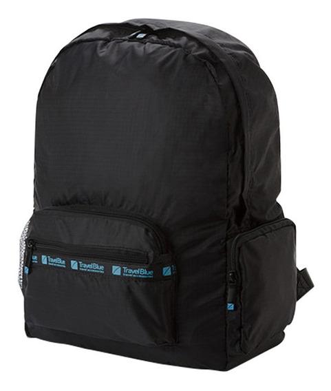 Mochila Plegable De Lona 15 Litros Travel Blue Tb050
