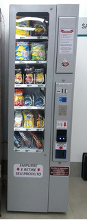 Maquina De Snacks Vending Machine Modelo Start Nova