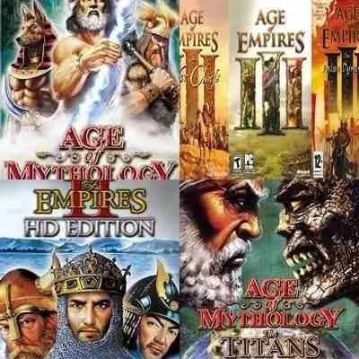 Colecao Age Of Empires Pc Game Envio Digital Emeil !!