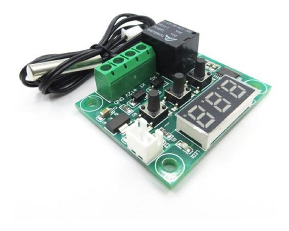 Termostato Digital W1209 Controlador Temperatura 12v