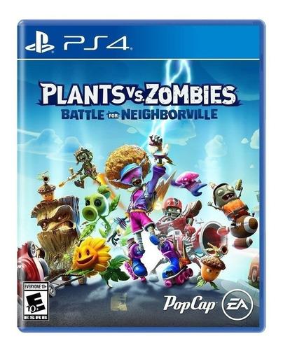Imagen 1 de 4 de Plants vs. Zombies: Battle for Neighborville Standard Edition Electronic Arts PS4 Físico