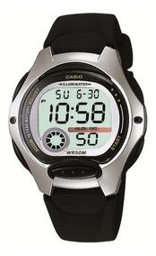 Relógio Casio Lw-200-1avcb Esporte Bateria Dura 10 Anos