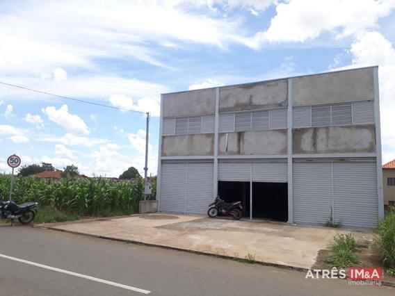 Galpão Para Alugar, 360 M² Por R$ 4.500,00/mês - Residencial Center Ville - Goiânia/go - Ga0004