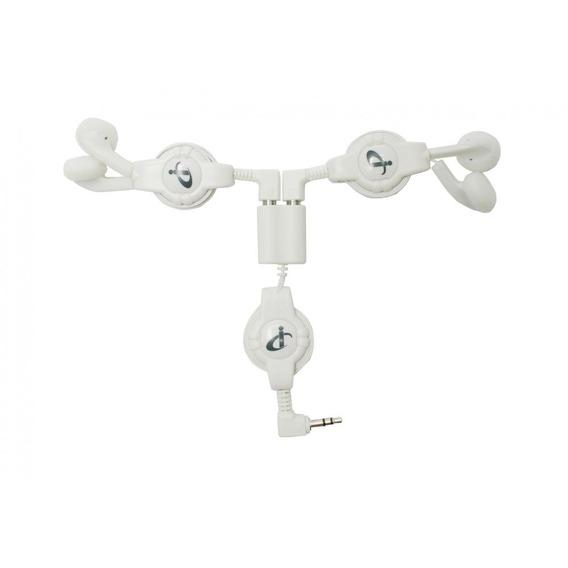 Kit Com 2 Fone De Ouvido Com Fio I-concepts Branco