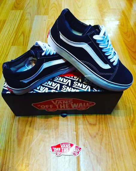 Tênis Old Skool Vans Preto Original