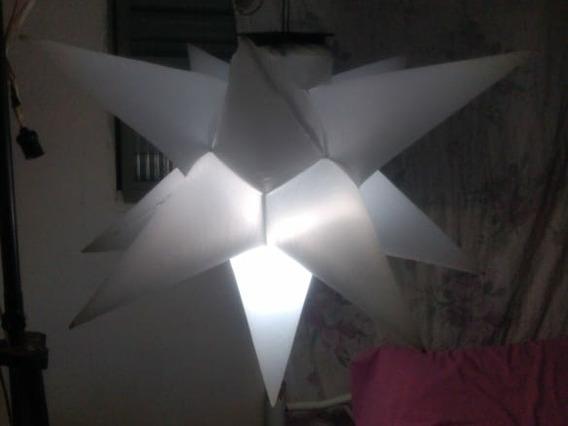 4 Sputniks Estrela, 11 Pontas, 80cm, Bivolt, Promoção