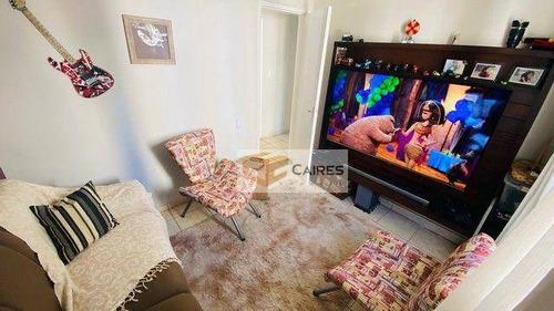 Imagem 1 de 6 de Apartamento Com 2 Dormitórios À Venda, 50 M² Por R$ 215.000,00 - Jardim Das Oliveiras - Campinas/sp - Ap8103