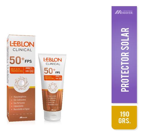 Leblon Clinical Fps 50 Pomo 190g Protector Solar
