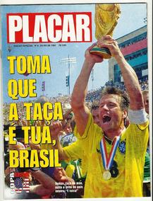 Revista Placar Especial Guia Da Copa 94 Ót. Com Poster