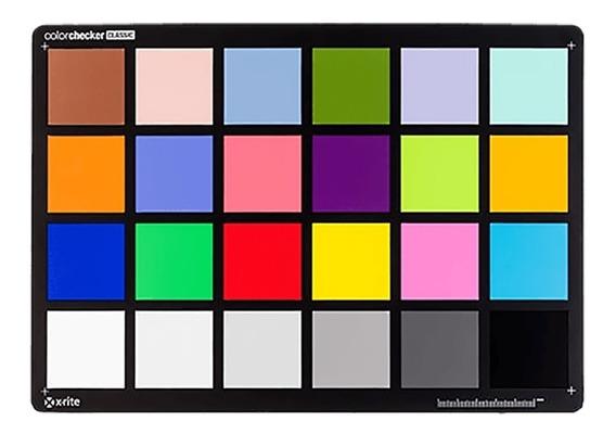 Color Check Classic X-rite Camera Calibration #