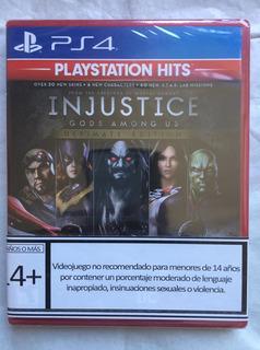 Injustice Gods Amog Us Ultimate E Ps4 Nuevo Sellado Envíos