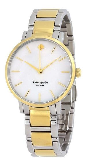 Reloj Kate Spade Gramercy Acero Dos Tonos Mujer 1yru0005