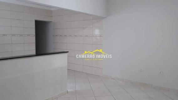 Casa Com 2 Dormitórios Para Alugar, 120 M² Por R$ 950,00/mês - Jardim Das Orquídeas - Americana/sp - Ca2146