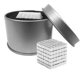 Neocube 5mm Juego 216 Cubos De Neodimio Estche Metal Figuras