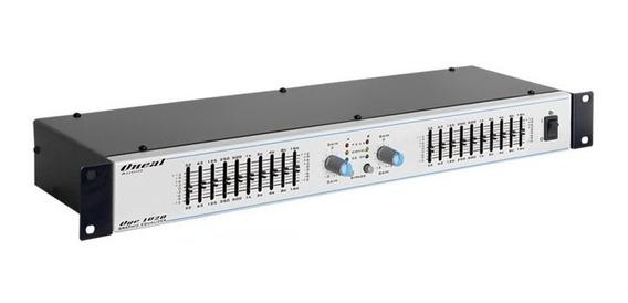 Equalizador Grafico Oneal 10 Bandas Stéreo Oneal Oge 1020