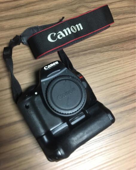 Câmera Fotográfica Canon T2i 550d + Grip E Acessórios