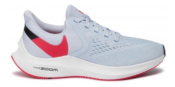 Zapatillas Nike Air Zoom Winflo 6 Mujer Running Aq8228-401
