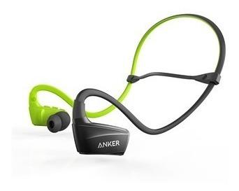 Fone De Ouvido Bluetooth Sport Preto/verde