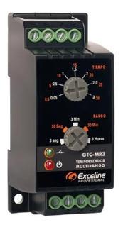 Temporizador Multirango 0,05sg-3h Exceline Gtc-mr3