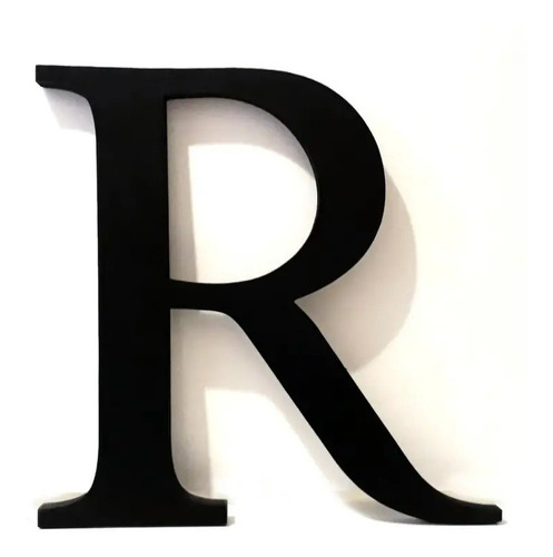 Imagen 1 de 1 de Letras Corporeas 13 Letras 15cm Tunombre Carteles Polifan