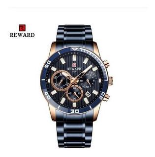 Reloj Hombre Deportivo Reward 81009 On Acero Inoxidable Caja