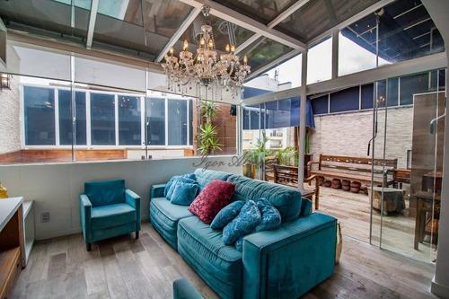 Imagem 1 de 30 de Cobertura Com 2 Dormitórios À Venda, 95 M² Por R$ 2.000.000,00 - Consolação - São Paulo/sp - Co1285