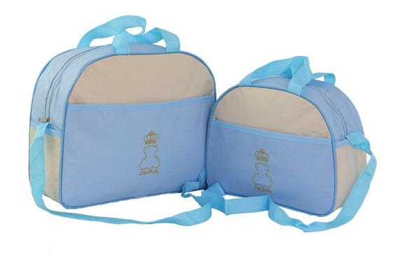 Bolsas De Bebê Mamãe Saída Maternidade Kit 2 Peças + Brinde