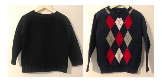 Sweaters Niño Grisino Y Poi (importado) Talle 2/3