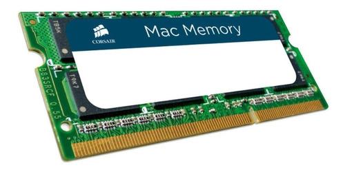 Imagen 1 de 2 de Memoria RAM Apple SODIMM color Verde  8GB 1 Corsair CMSA8GX3M1A1333C9
