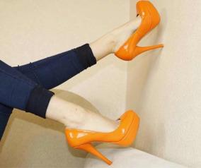 Sapato Boneca Salto 15cm Em Verniz - Personalize Sua Cor