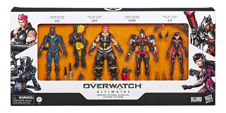 Overwatch Figuras Ultimates Carbon Fiber Set