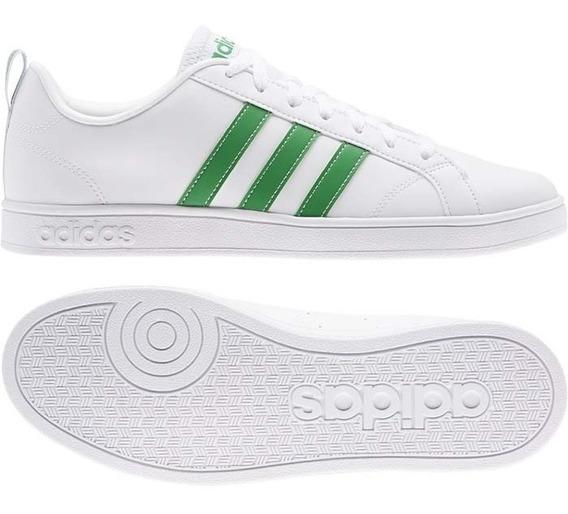 Tenis adidas Advantage Blanco/verde - D97609
