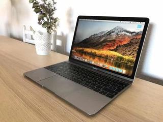 Macbook 12 Retina 2016 Con 11 Ciclos 256 Gb Impecable Mac