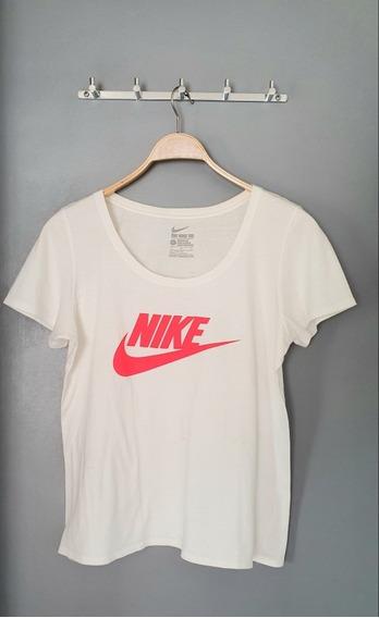 Remera Nike Talle L Blanca Original