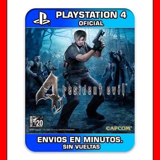 Psn = Resident Evil 4 Ps4