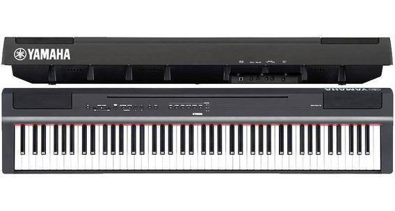 Piano Digital Yamaha P125 Preto