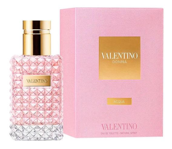 Perfume Valentino Donna Acqua Edt Feminino 50 Ml